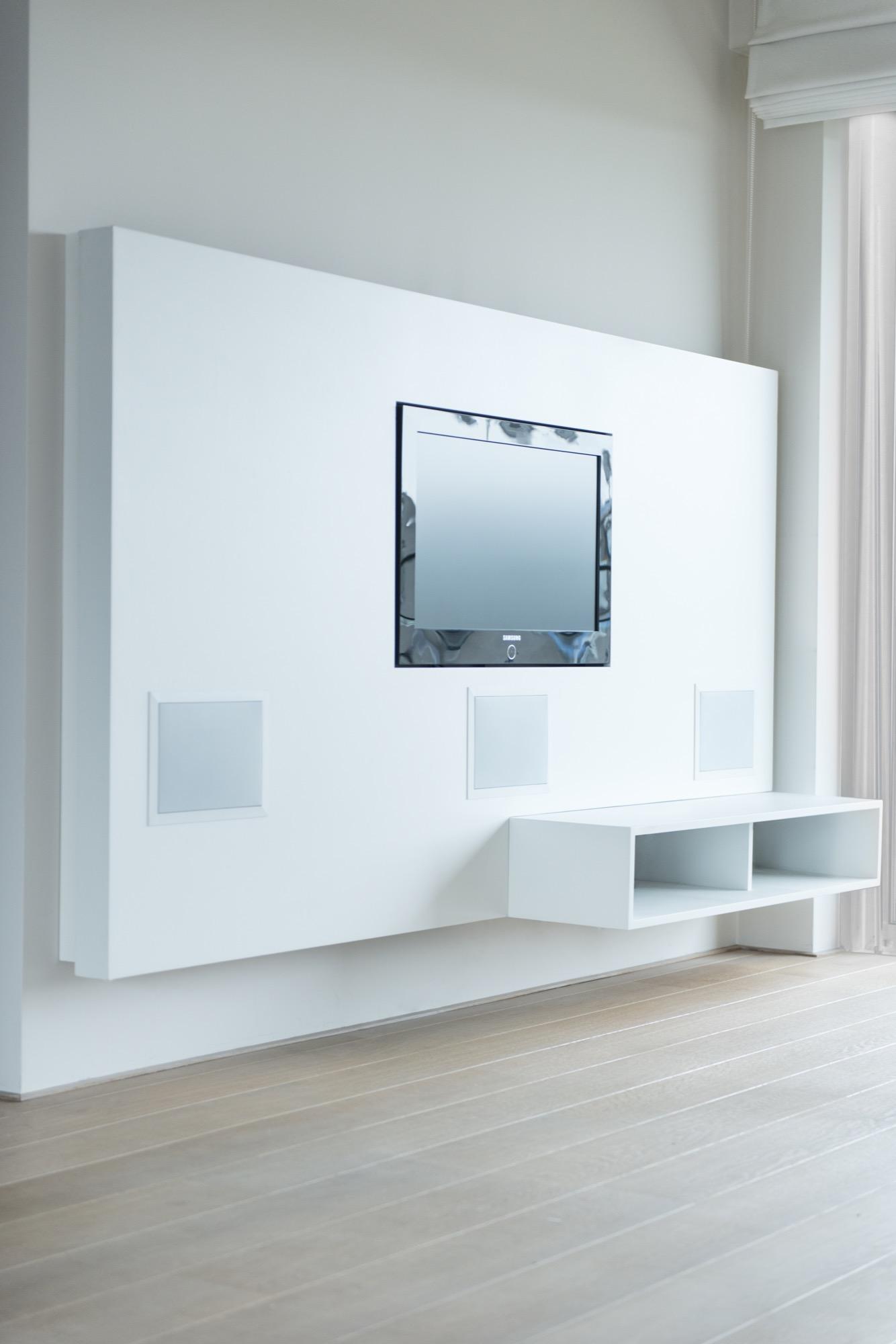 wandkast op maat televisie