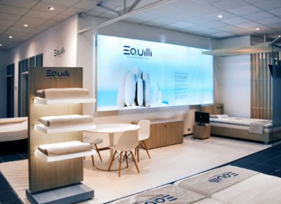 point of sale - shop in shop: Equilli